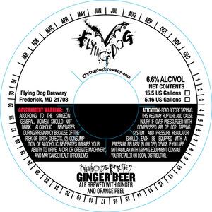 Flying Dog Ginger Beer