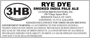 Three Heads Brewing Rye Dye