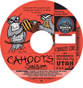 Uinta Brewing Company Cahoots