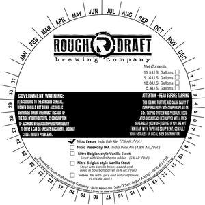 Rough Draft Brewing Company Nitro Eraser