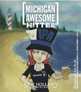 New Holland Brewing Company LLC Michigan Awesome Hatter
