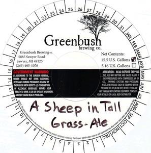Greenbush Brewing Co. A Sheep In Tall Grass