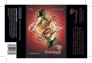 Greenbush Brewing Co. One And The Same