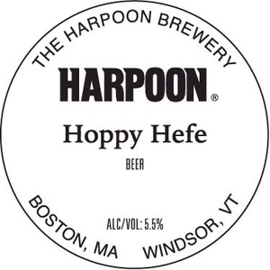 Harpoon Hoppy Hefe
