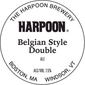 Harpoon Belgian Style Double
