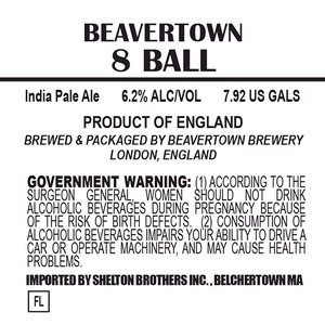 Beavertown Brewery 8 Ball