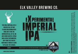Elk Valley Brewing Company Experimental Imperial IPA