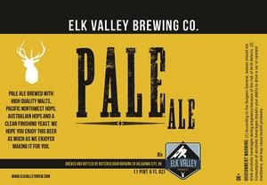 Elk Valley Brewing Company Pale