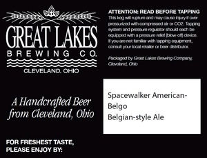 The Great Lakes Brewing Co. Spacewalker