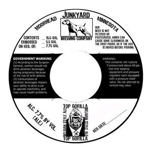 Junkyard Brewing Company Top Gorilla