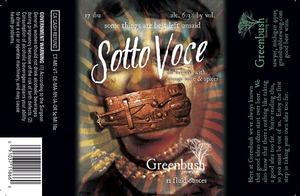 Greenbush Brewing Co. Sotto Voce