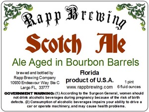 Rapp Brewing Scotch Ale