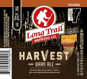 Long Trail Havest Barn Ale