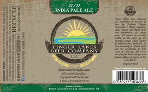Finger Lakes Beer Company 11/11