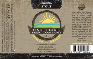 Finger Lakes Beer Company Steamboat Stout