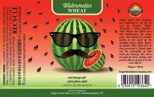 Finger Lakes Beer Company Watermelon Wheat