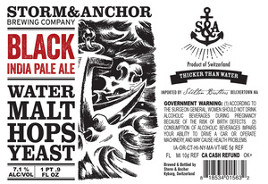 Storm & Anchor Black