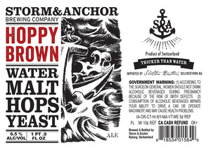 Storm & Anchor Hoppy Brown