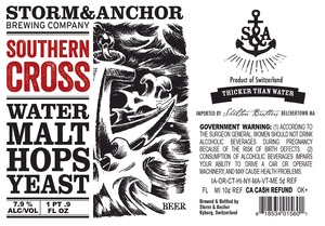 Storm & Anchor Southern Cross