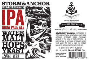 Storm & Anchor IPA
