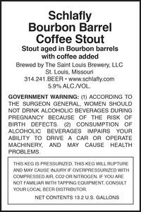 Schlafly Bourbon Barrel Coffee Stout