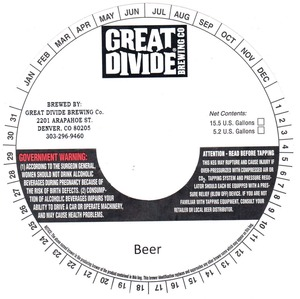 Great Divide Brewing Company Beer