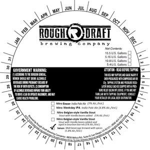 Rough Draft Brewing Company Saison