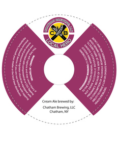 Chatham Brewing, LLC. April 2014