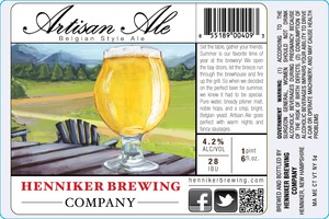Henniker Brewing Company Artisan Ale
