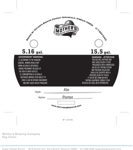 Mother's Brewing Company Porter