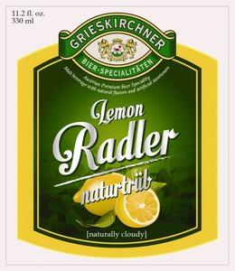 Grieskirchner Lemon Radler