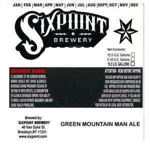 Green Mountain Man Ale