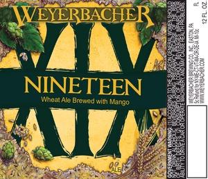 Weyerbacher Xix