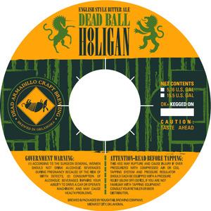 Dead Armadillo Brewing Company Dead Ball Hooligan