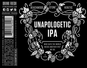 Stone Brewing Co Unapologetic IPA