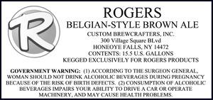 Rogers Belgian-style Brown