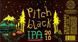 Widmer Brothers Brewing Company Pitch Black May 2014