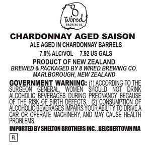 8 Wired Chardonnay Aged Saison