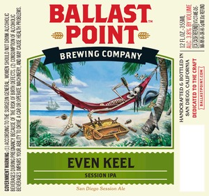 Ballast Point Brewing Company Even Keel
