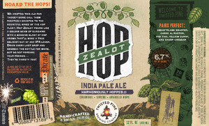 Twisted Pine Brewing Company Hop Zealot