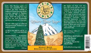 Jack's Abby Brewing Leisure Time