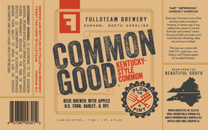 Fullsteam Brewery Common Good