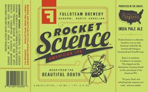 Fullsteam Brewery Rocket Science American IPA