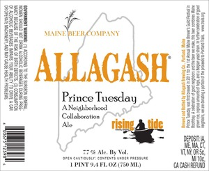Allagash Brewing Company Prince Tuesday