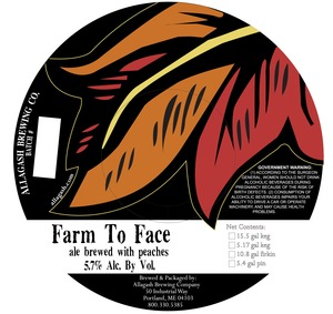 Allagash Brewing Company Farm To Face