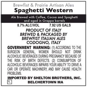Brewfist & Prairie Artisan Ales Spaghetti Western May 2014