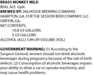 Brass Monkey Mild