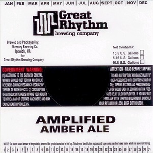 Great Rhythm Amplified Amber