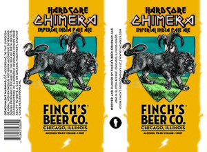 Finch's Beer Company Hardcore Chimera Imperial India Pale Ale