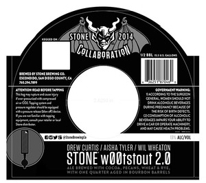 Stone Brewing Co Stone W00t Stout